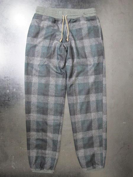 サイズ限定セール green clothing グリーンクロージング イージーパンツ FLANNEL PANTS グリーン【スノーボード】