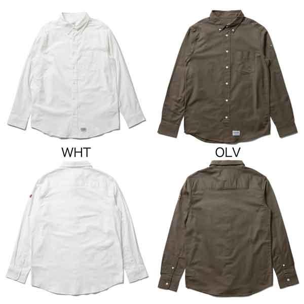430 フォーサーティー FI L/S OX BD SHIRTS エフアイロングスリーブオックスフォードボタンダウンシャツ【BMX】【シャツ】【長袖】【アパレル】