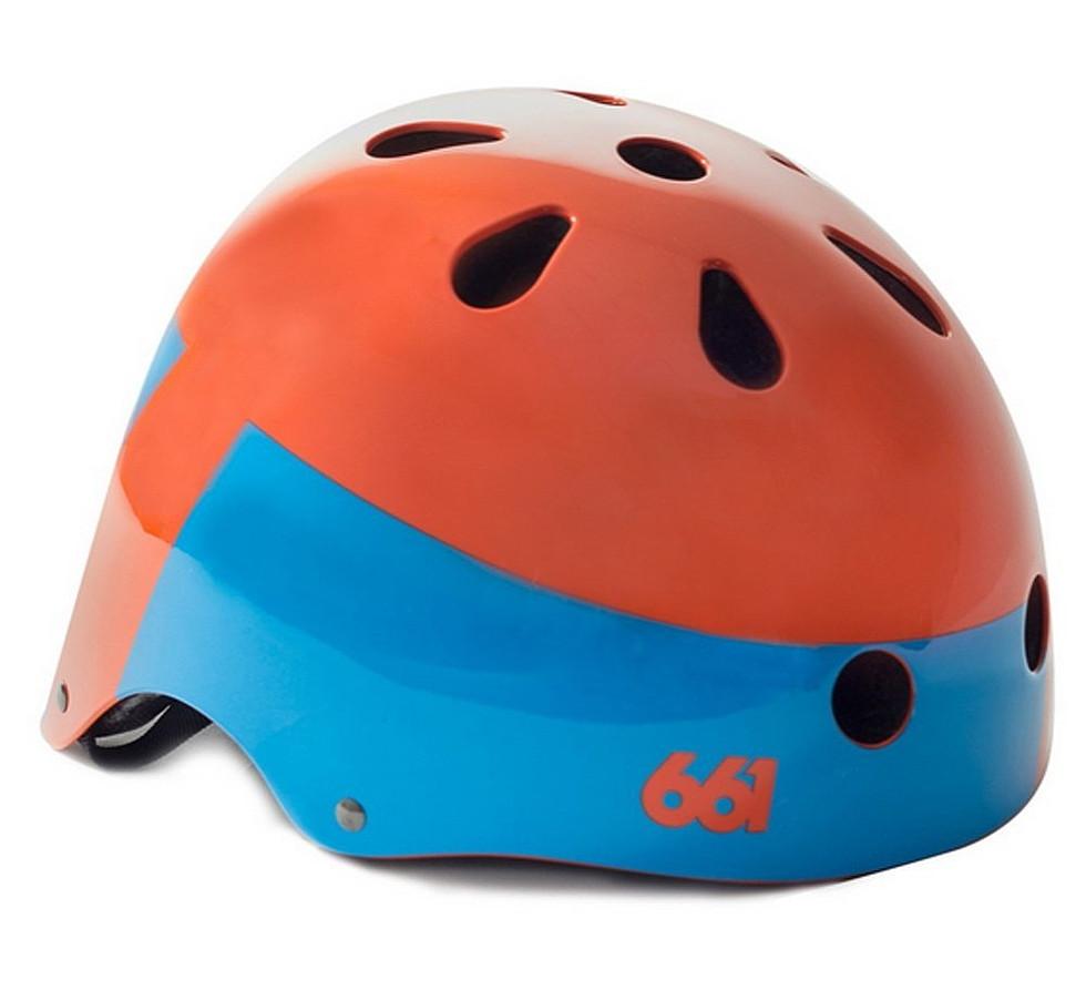 661 SIXSIXONE シックスシックスワン YOUTH DIRT LID オレンジ L/XLサイズ【ヘルメット】【BMX】【スノースクート】【キッズ】