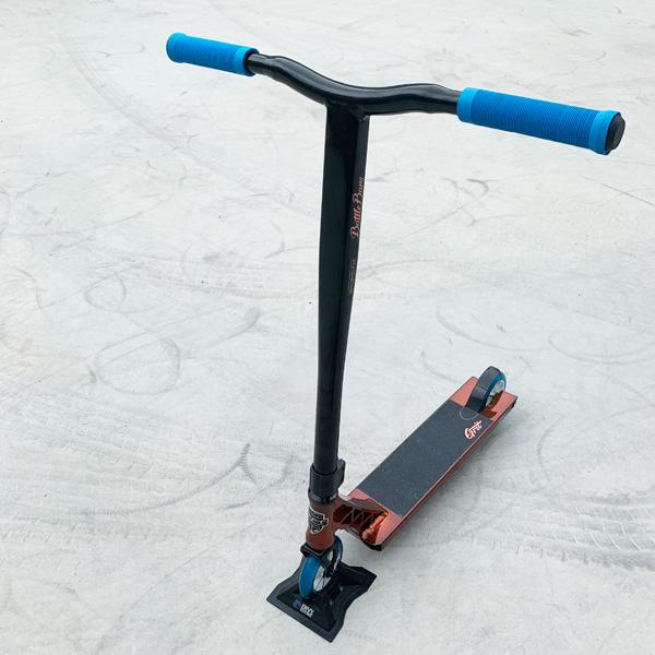 Grit Freestyle Scooter グリットフリースタイルスクーター プロモデル ELITE エリート gold/black【キックボード】【キックスクート】【フリースタイル】