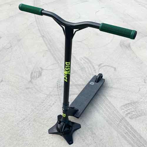 フリースタイルスクータープロモデル DISTRICT ディストリクト C50 ブラック 身長150~175cm キックボードスタントトリック