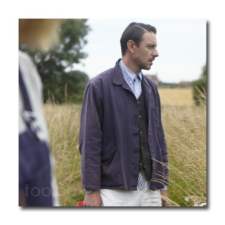 【英国直輸入 イギリス Carrier Company キャリアカンパニー 】「Norfork Work Jacket Mans」(ノーフォーク・ワークジャケット・メンズ)」【ガーデニングウェア 男性用 長袖 園芸 作業着 農作業着 大きいサイズ有り おしゃれ 父の日 敬老の日 プレゼント ギフト】