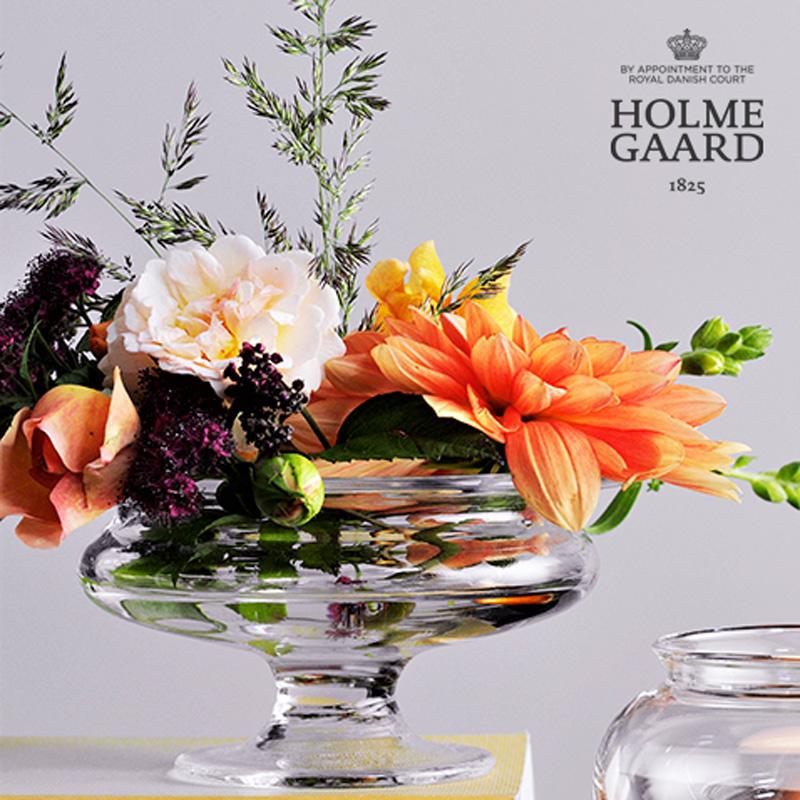 デンマーク王室御用達ブランド「HOLMEGAARD」(ホルムガード)社から「Old English」シリーズ HOLME GAARD(ホルムガード)Old English「Flower Bowl」直径13cm オールドイングリッシュ フラワーボウル 直径13cm)
