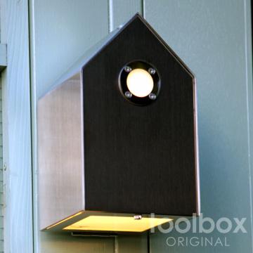 birdhouse light / バードハウスライト(ブラックステンレス)屋外照明 外灯 玄関灯