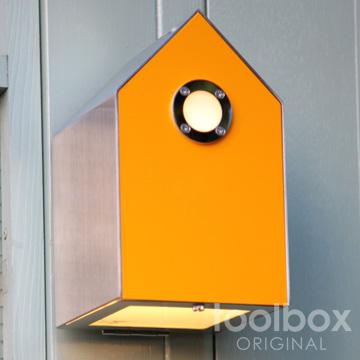 birdhouse/ light light birdhouse/ バードハウスライト(オレンジイエロー), マロンと散歩:d6ad10fe --- pixpopuli.com