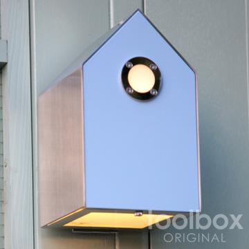 birdhouse light / バードハウスライト(スカイブルー)屋外照明 外灯 玄関灯