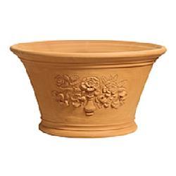 世界中のガーデナーから愛されるウィッチフォード 【Whichford Pottery】 ローズアンドリリー /wf-rhs1805【H30xW49(cm)】