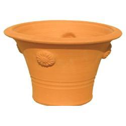世界中のガーデナーから愛されるウィッチフォード 【Whichford Pottery】 チューダーローズポット /wf-002【H33xW47(cm)】