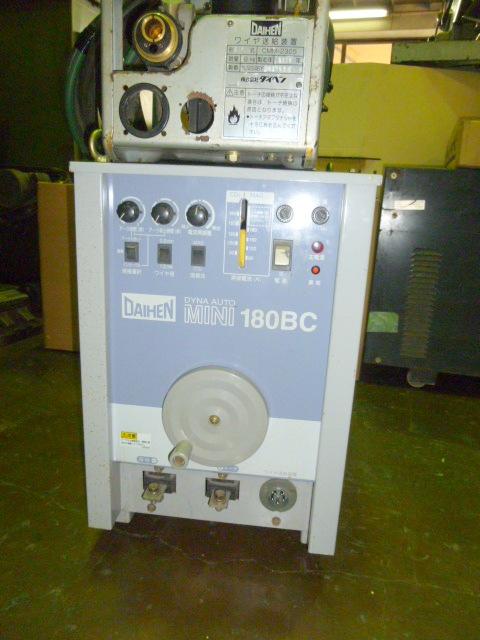 ◆ 半自動溶接機ダイヘンオートミニ180BC
