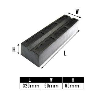 ◆リフト用ゴムブロック 高さ60cm 4個セット