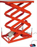 TRUSCO スーパーFAリフター100kg 電動式 800X500 高揚程型 HFA100508W320