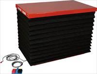 TRUSCO スーパーFAリフター300kg 電動式 1200X520 蛇腹付 HFA300512J20