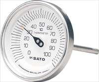 佐藤  バイメタル温度計BM-T型 BMT90S1