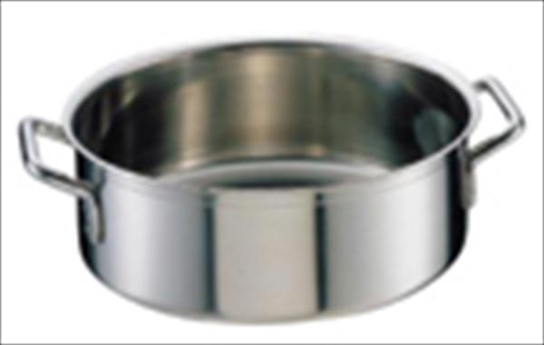 シットラム シットラムイノックス18-10平鍋 三重底 (蓋無)40R 40 6-0028-1003 AHL11040