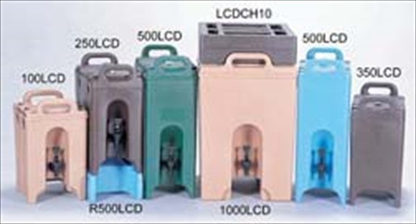 CAMBRO キャンブロ ドリンクディスペンサー 100LCD コーヒーベージュ FDL326S [7-0879-0101]