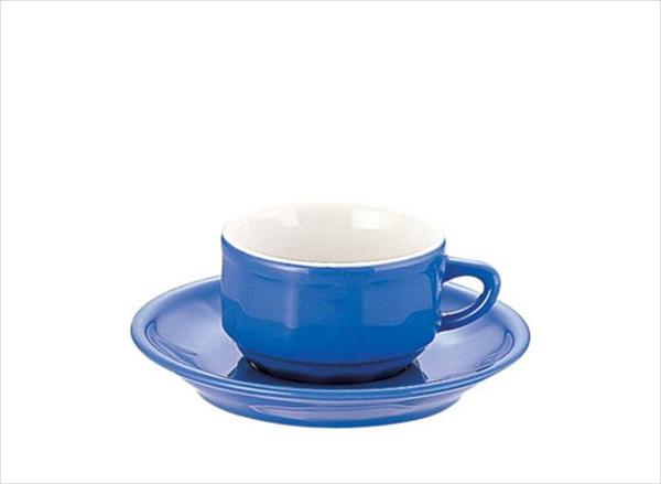 アピルコ フローラ モカカップ&ソーサー(6客入) PTFL M FL ブルー 6-2122-1204 RAP3604