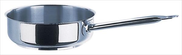 モービル モービルプロイノックス 片手浅型鍋 (蓋無) 5931.32 32 6-0027-0504 AKT764