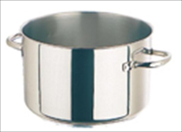 モービル モービルプロイノックス半寸胴鍋 (蓋無) 5935.24 24 6-0027-0201 AHV601