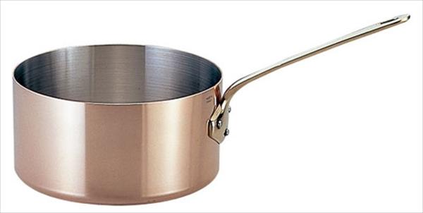 モービル モービルカパーイノックス片手深型鍋 (蓋無)6520.14 14 6-1673-0201 AKT772