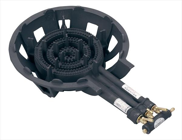 鋳物コンロ DE-30nSL(三重) P無 LPガス 6-0640-0502 DBC6302