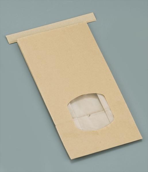 水野産業 クラフト窓付きティンタイ袋(ワイヤー付) M(400枚入) 6-0876-1002 GHK0702