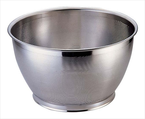 三宝産業 UK18-8パンチング米揚ざる 37.5 6-0250-1105 AKM4005