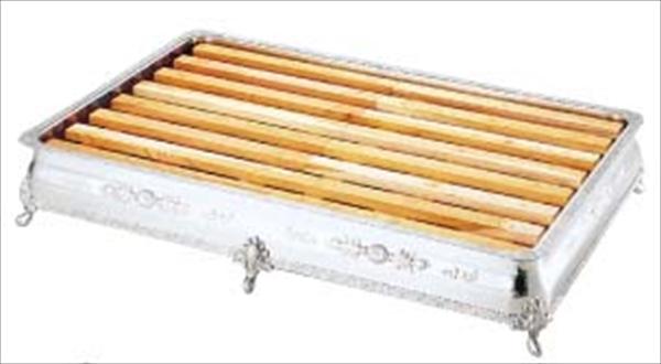 三宝産業 UK 18-8広渕 氷彫刻飾台 60インチ 菊 No.6-1569-0813 NKO0213