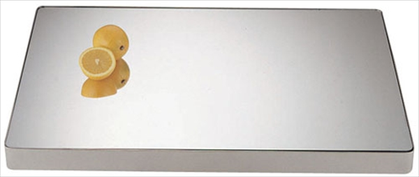 三宝産業 UK18-8ロイヤル角ミラープレート 20インチ (アクリル) 6-1535-0501 NML36201