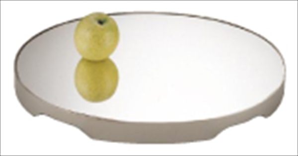 三宝産業 UK18-8ロイヤル小判ミラープレート 26インチ (アクリル) 6-1535-0704 NML38261