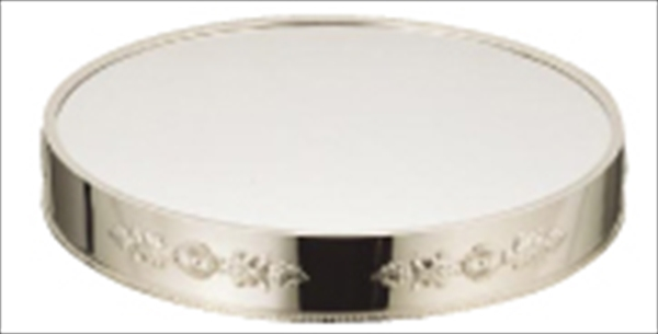 三宝産業 UK18-8丸ミラープレート 32インチ (ブラックアクリル) No.6-1536-0220 NML44323