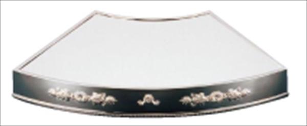 三宝産業 UK18-8末広型ミラープレート 菊模様 (アクリル) NML4901 [7-1615-0701]