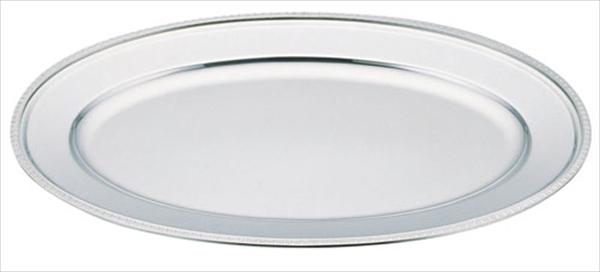 三宝産業 UK18-8菊渕小判皿 28インチ 6-1541-0210 NKB04028
