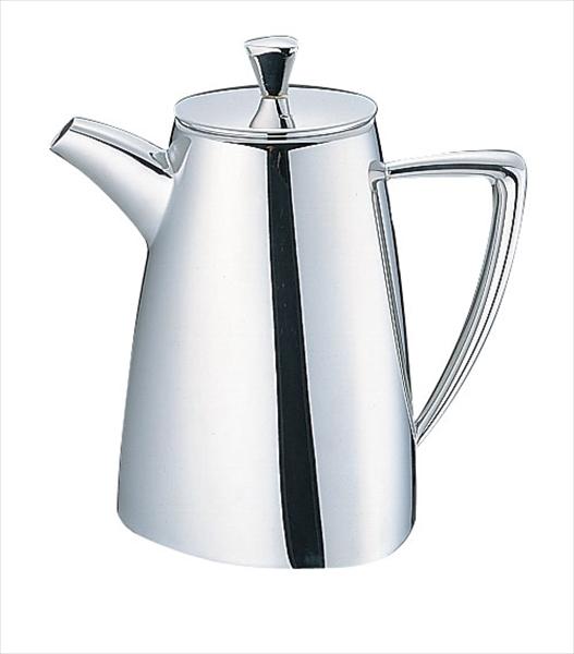 三宝産業 UK18-8トライアングルシリーズ コーヒーポット 8~10人用 6-1749-0303 PTL7703