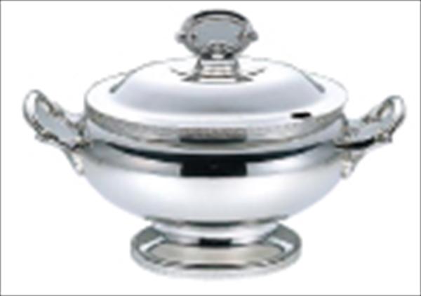 三宝産業 UK18-8菊渕小判スープチューリン L 6-1553-0601 NSC19001