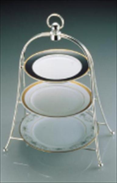 三宝産業 UK アフタヌーンティースタンド 3サイズ用(銀メッキ) 6-1557-0201 PAH02