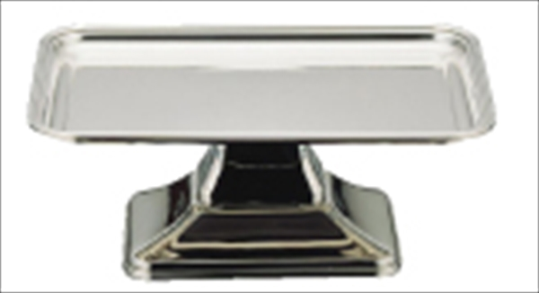 三宝産業 UK 18-8バロン角型ケーキコンポート 14インチ 6-1560-0901 PKC12014