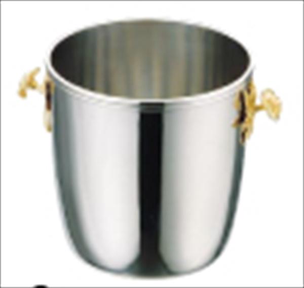 三宝産業 UK18-8シャンパンクーラー A(ローズハンドル) No.6-1721-0401 PSY08001