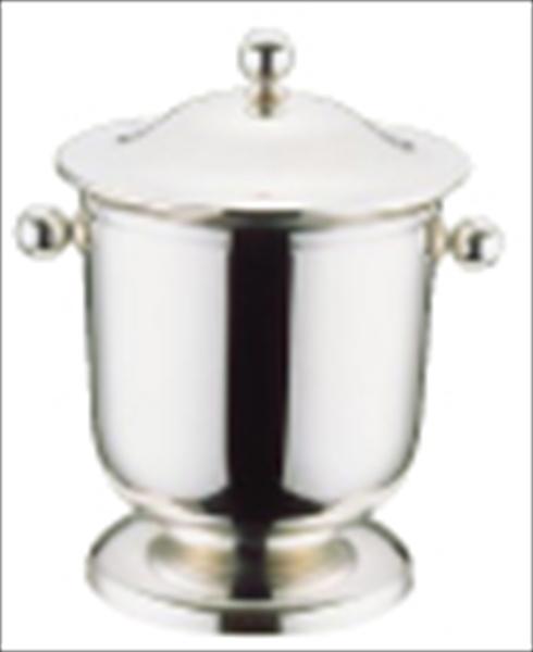 三宝産業 UK18-8ロイヤルアイスペール(蓋付)  PAI65 [7-1797-0501]