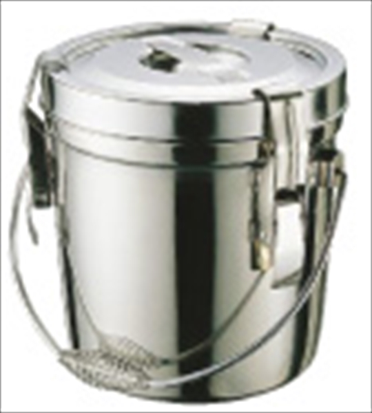 遠藤商事 SA18-8ダブル汁食缶(フック付) 6l(吊付) 6-0183-0301 ASY09006