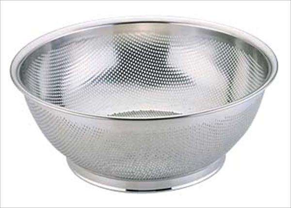 三宝産業 エコクリーン 18-8パンチング浅型ざる 50cm UK AEK1507 [7-0250-0207]