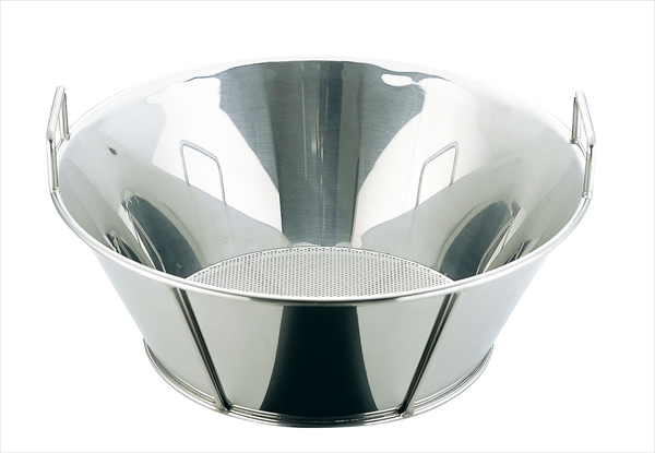 三宝産業 UK18-8揚げざる/底パンチング 51(穴径Φ2.2) AZL6503 [7-0253-0403]