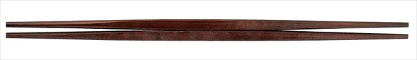 福井クラフト吉田 PBT利休箸(10膳入)紫檀塗 90030761 6-1644-3401 RHSH801