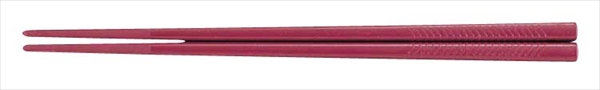 関東プラスチック工業 PETすべり止め付彫刻入箸(100膳入) PT-215 ローズ 6-1642-0506 RHS96032