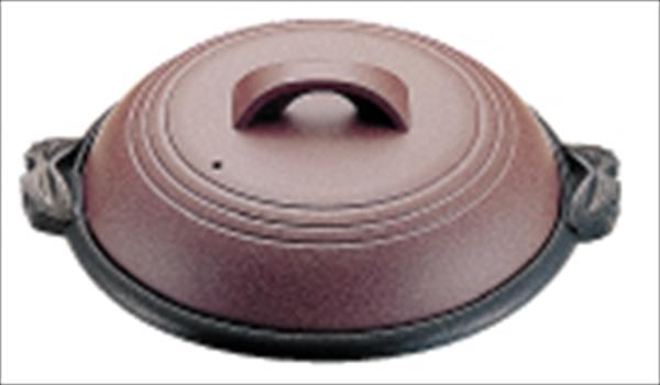 マイン アルミ陶板鍋素焼き茶 横綱 42 M10-541 6-1944-1301 QTU18541