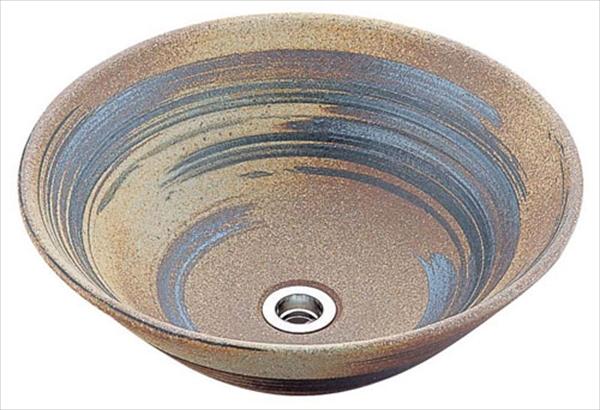 かね馬 アーサーライン手洗鉢(器具付) 13号 MA-504 6-1288-1501 KTA0201
