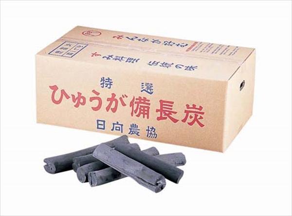 山大燃料工業 白炭 日向(宮崎)備長炭 丸 12kg (樫1級) 6-0686-0401 QMK2101