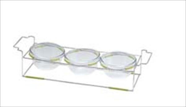 ミヤザキ食器 ワイヤースタンドセット(18ボール付) BQ9909-1803(GR) NWI0203 [7-1544-0503]