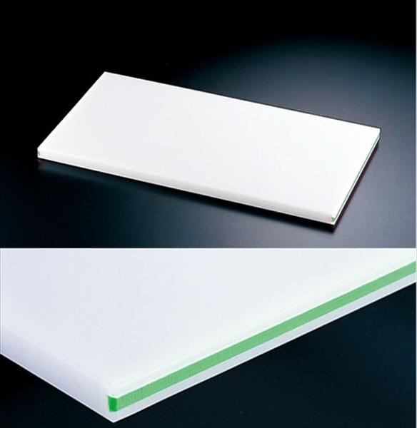 住ベテクノプラスチック 住友 抗菌プラまな板 カラーライン付 緑 SSOOL 50×27×H2 6-0330-0302 AMNC202