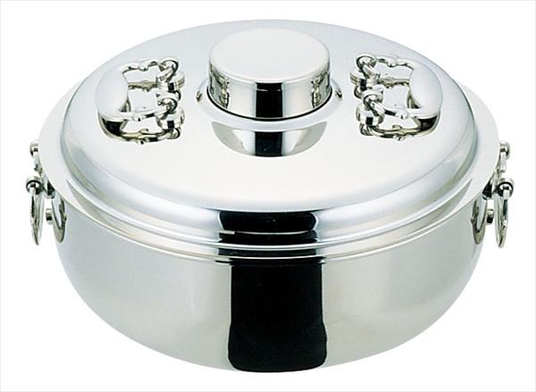 野崎製作所 NS18-8電磁専用しゃぶしゃぶ鍋 最安値 27cm 完全送料無料 7-1995-1002 QSY43027