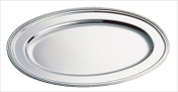 和田助製作所 SW18-8 B渕小判皿 (魚皿兼用)40インチ 6-1543-0216 NKB19040